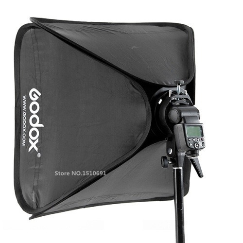godox softbox 80x80 +soporte bowens