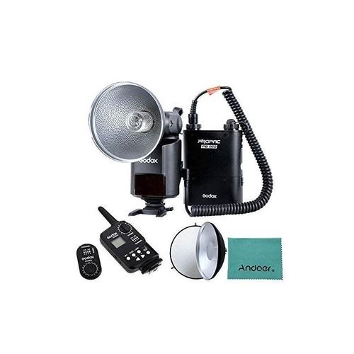 godox witstro ad-360 360w gn80 flash portátil externo speedl