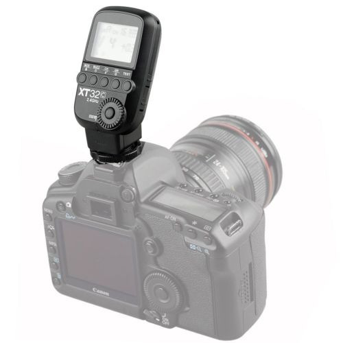 godox xt32c hss 1/8000s 2.4g cámara flash trigger + 2 * 16 x