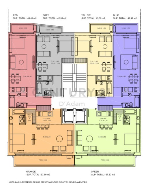 godoy town house mono divisible en l