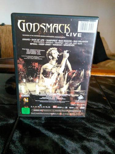 godsmack live dvd