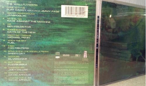 godzilla cd soundtrack bowie zeppelin jamiroquai rage foo