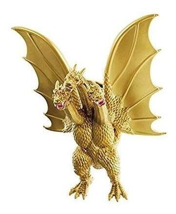 godzilla movie monster ex king ghidorah 7 vinilo figura!