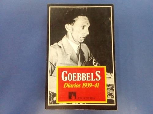 goebbels diarios 1939 - 1941