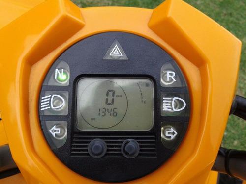 goes 220 automatico. patentado - cuatriciclo no/yfm grizzly