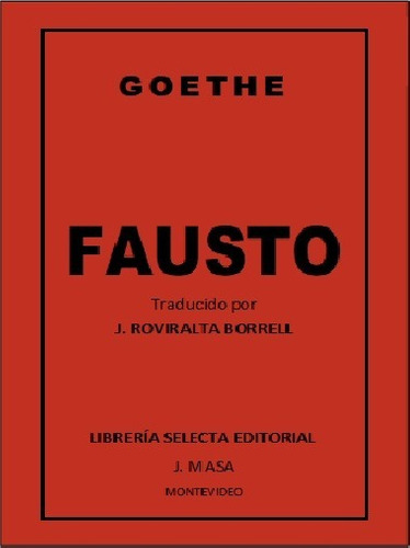 goethe - fausto - editorial ceal