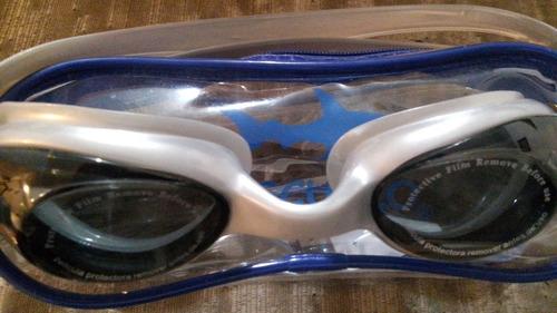 goggle, con estuche, nuevo