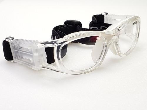 goggle deportivo juvenil graduar oftalmico futbol cristal 30
