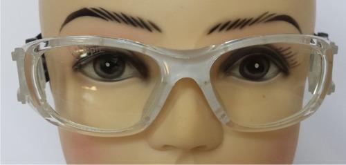goggle deportivo para graduar juvenil oftalmico flexible