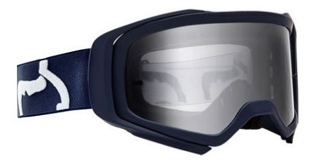 goggle fox air space race navy motocross enduro mtb