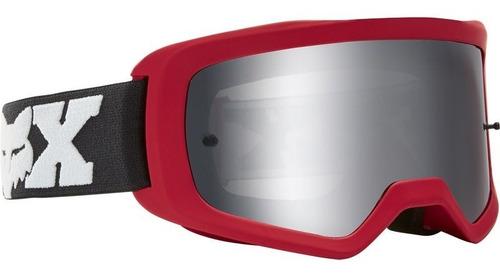 goggle fox main linc spark rojo motocross all road mtb bmx