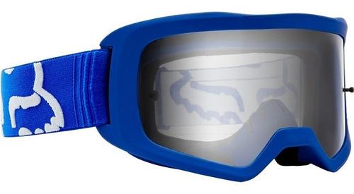 goggle fox main race azul p/niños moto downhill mtb rzr mx