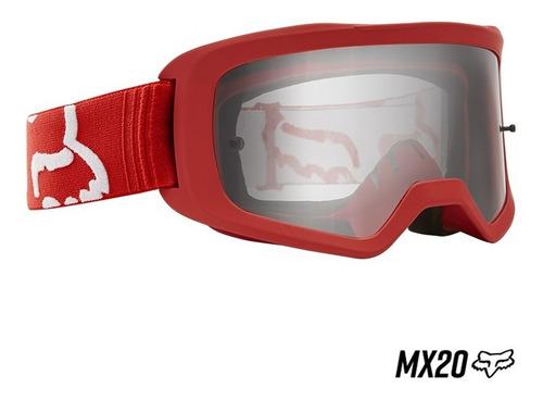 goggle fox main race para niño mx20
