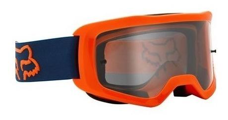 goggle fox main stray naranja/florida motocross enduro