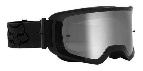 goggle fox main stray negro motocross enduro