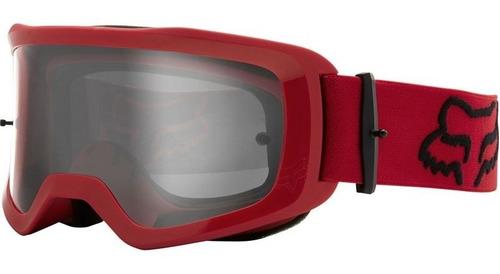 goggle fox main stray rojo/flama motocross enduro