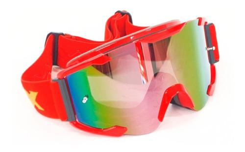 goggle para casco abierto/cross yh90 - dex