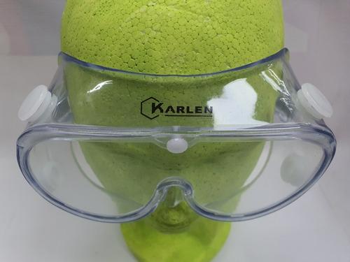 goggles lentes gafas transparentes seguridad válvula ligeros