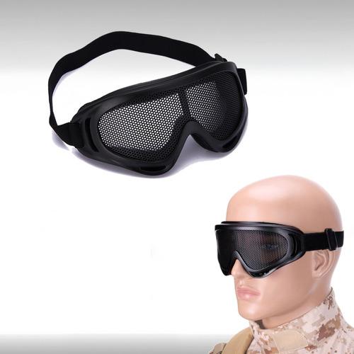 goggles lentes malla mesh militar gotcha paintball airsoft