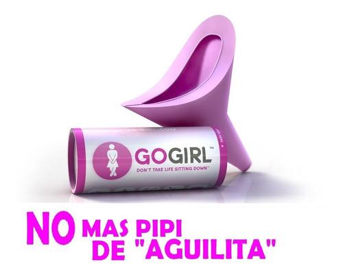 gogirl, dispositivo femenino para orinar de pie - go girl