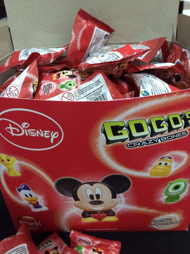 gogo's disney claro envelopes lacrados r$ 1,99 cada envelope