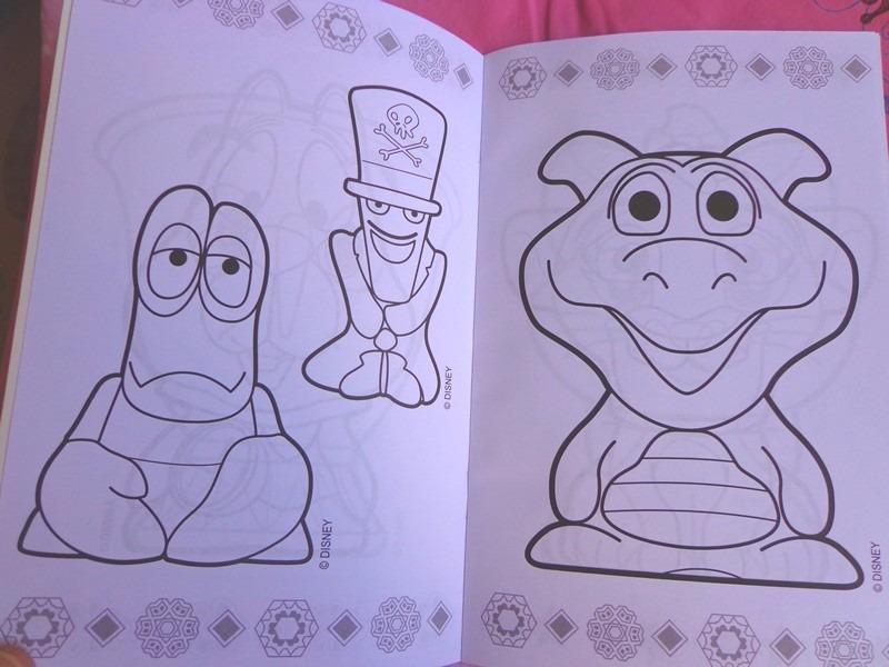 Gogos Disney Panini Libros Anaranjados Para Colorear - $ 100.00 en ...