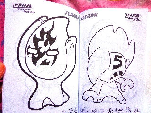 Gogos Panini Serie Megatrip Libros Para Colorear - $ 100.00 en ...