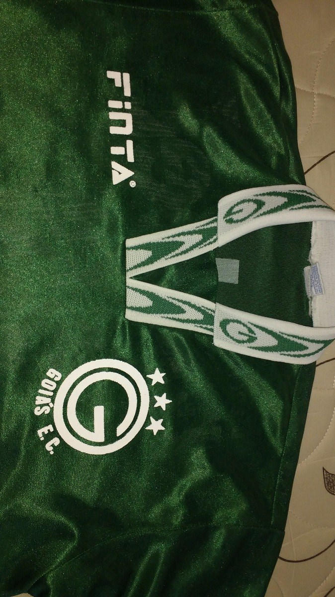 Camisa Goiás Esporte Clube - Finta - 1996 - R  400 126165676c306