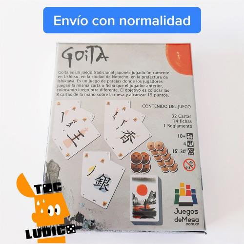 goita - juego de cartas tradicional japones en español