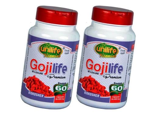 goji berry 100% puro capsula concentrado melhor resultado 2p
