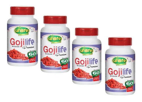 goji berry life original 240 cápsulas + 2 termogenico forte