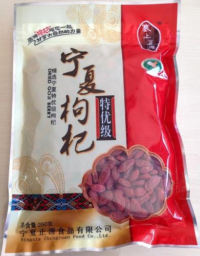 goji berry premium importado 250g embalagem zip loc