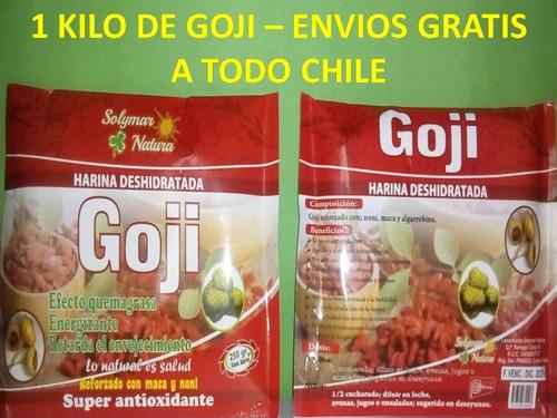 goji en polvo deshidratado gran oferta 1 kg /sol-ofertas