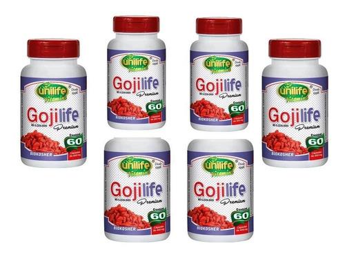 goji life 360 cápsulas berry kit 6 puro concentrada