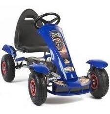 gokart a pedales ruedas de gomas de 3 a 8 años aprox