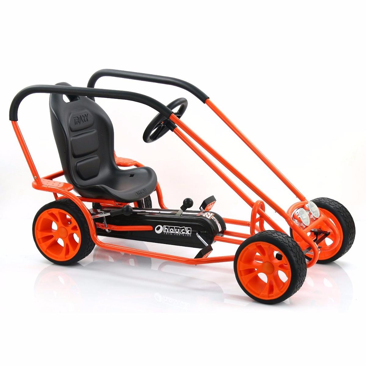 gokart carro montable de pedales thunder ii hauck 5 12 a os 5 en mercado libre. Black Bedroom Furniture Sets. Home Design Ideas