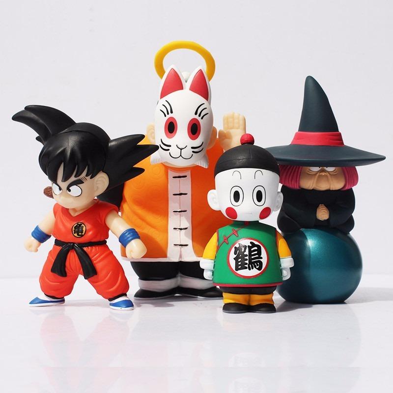 Goku - Dragon Ball Figuras Coleccionables - 4 Unidades -   640.00 en ... cdf69f89765
