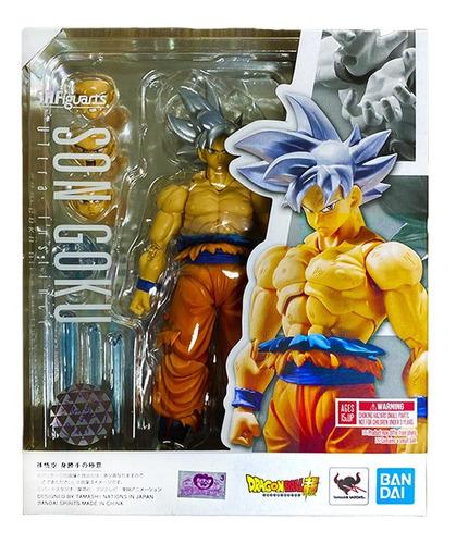 goku instinto superior - dragon ball super - s h figuarts
