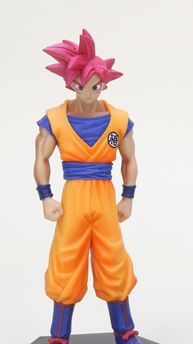 goku super sayajin deus dragon ball goku god red