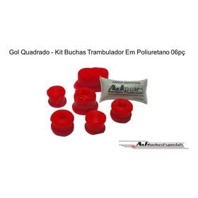 Gol G3 G4 - Kit Buchas Trambulador Em Poliuretano 06pç