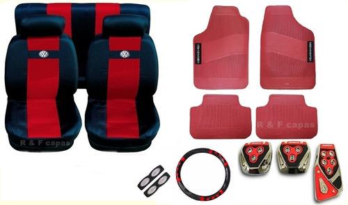 gol g4 2014 jogo capas bancos kit tapetes pedaleira volante
