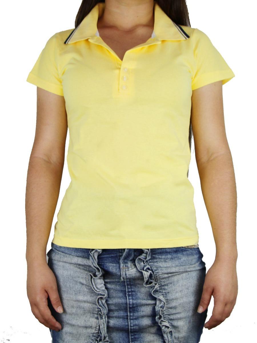 Gola Polo Feminina No Atacado 20 Camisas Gola Polo Feminina - R  385 ... 3dc80889aae43