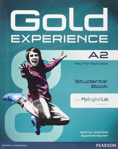 gold experience a2 student's book + my english lab
