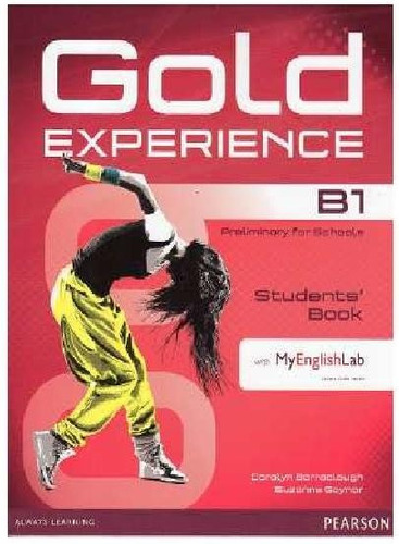 gold experience b1+ student's book + my english lab