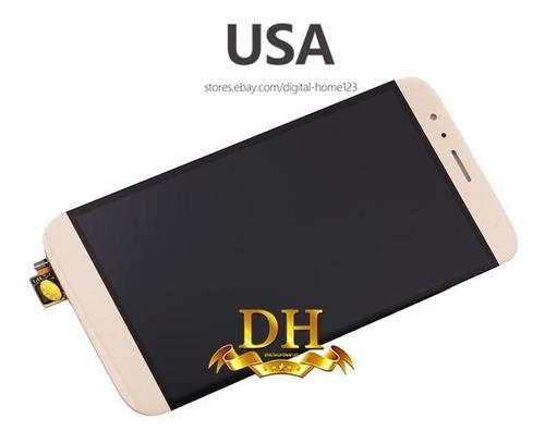 gold - para huawei gx8 ascend g8 rio-l03 al00 combo pan-1538