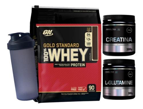 gold standar 2880g + creatin 300g probiót+ glutami 300g+ coq