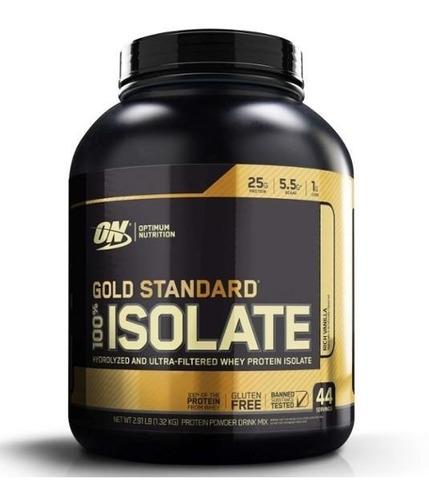 gold standard 100% isolate optimum on (1,360 kg) importado