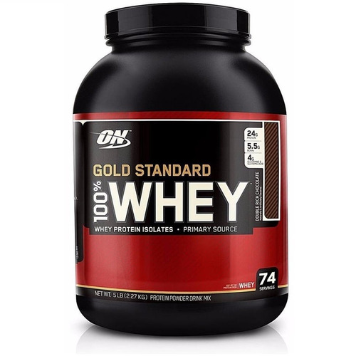 gold standard 100% whey protein isolado optimum 2,270 kg iso