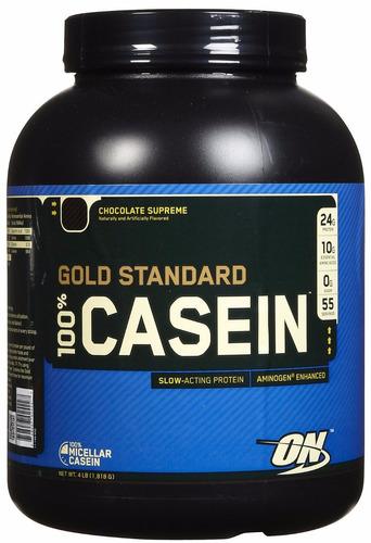 gold standard casein de on proteína de caseina 4 lbs