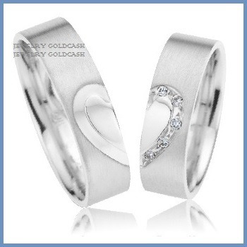 goldcash.- exclusivas argollas oro blanco plata matrimonio